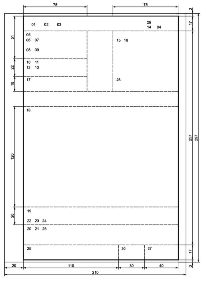 Что такое формуляр документа в делопроизводстве - образец для скачивания